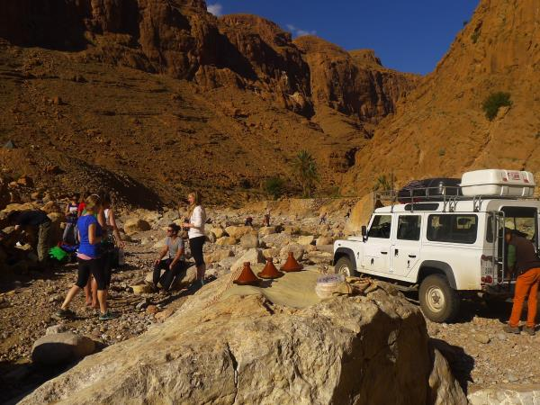 Morocco rock climbing & yoga holiday