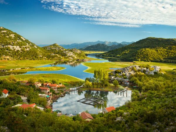 Self-guided walking short break in Montenegro