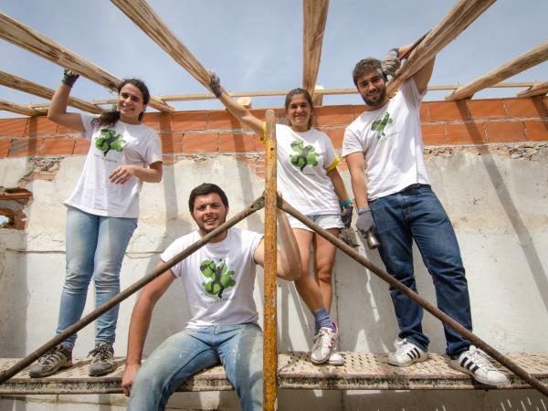 House renovation volunteering in Portugal