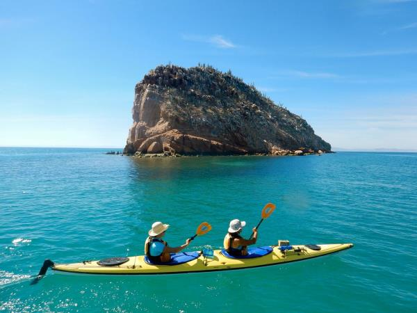Mexico sea kayaking holiday