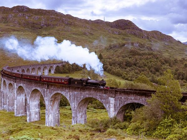 Britain tour by train