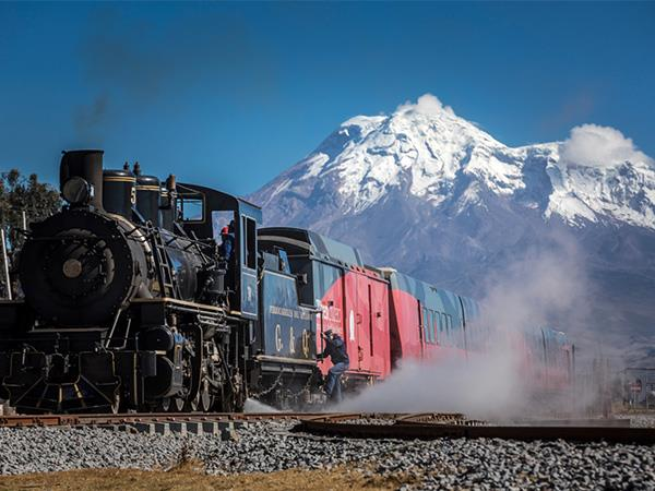 Ecuador railway holiday with Galapagos cruise