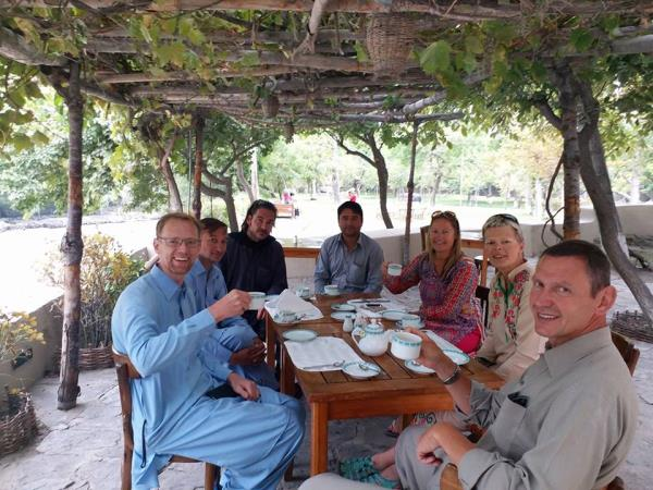 Pakistan tour, small group