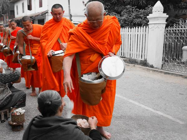 Laos cycling tour, Luang Prabang to Vientiane