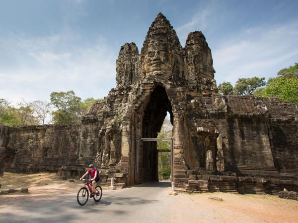 Small group cycling holiday in Cambodia