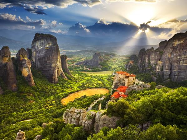 Meteora and Pindos Mountains walking holiday in Greece