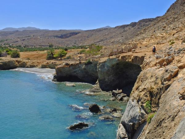 Crete guided walking holiday