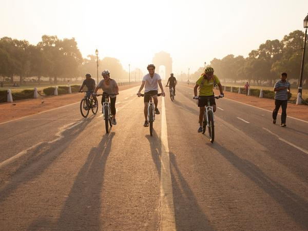 India cycling tour, north and south