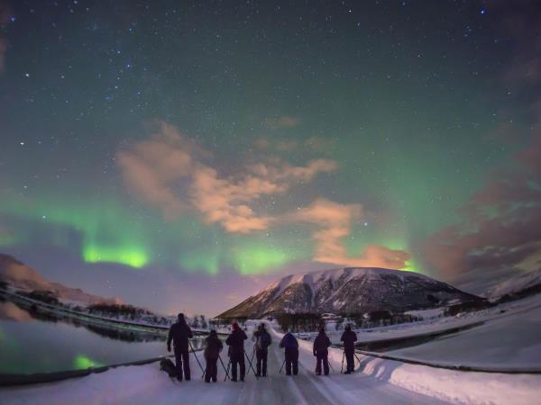 Northern Lights photography holiday in Norway