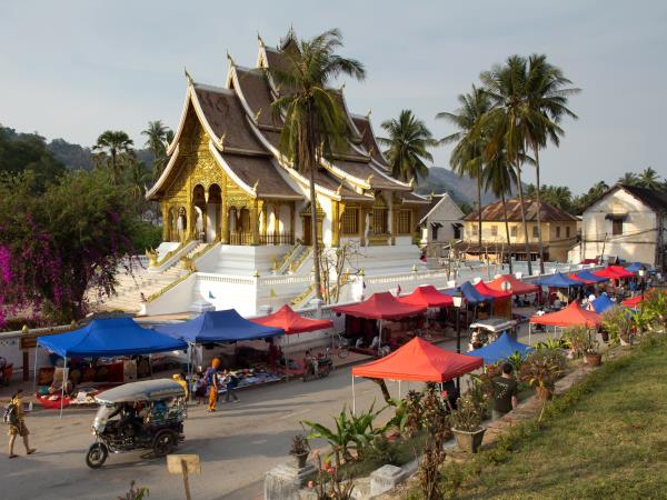Thailand and Laos cycling holiday