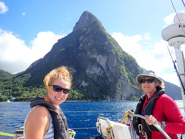 Grenada to St Lucia sailing holiday