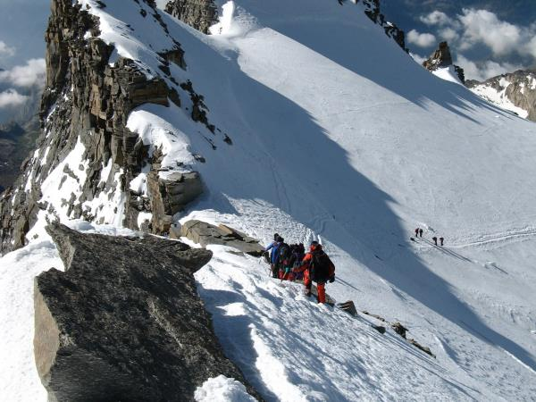 Chamonix valley trekking holiday, France