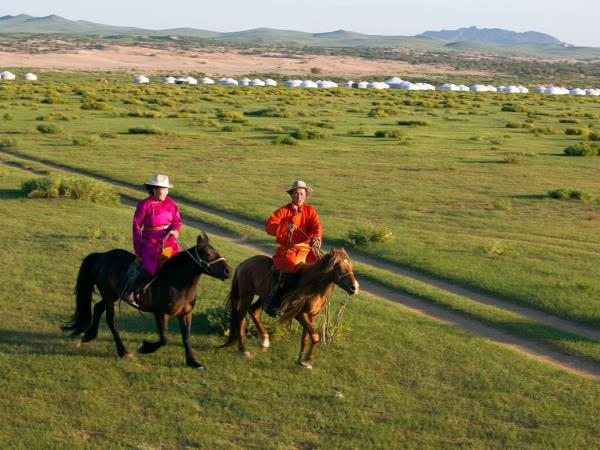 Mongolia nomad horse riding holiday