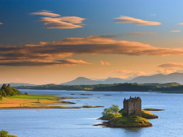Scotland cruise and painting holiday