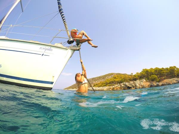 Saronic Gulf sailing holiday in Greece