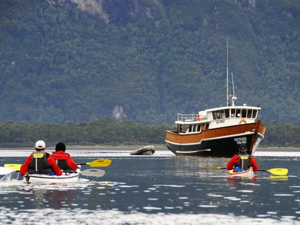 Patagonia kayaking holiday