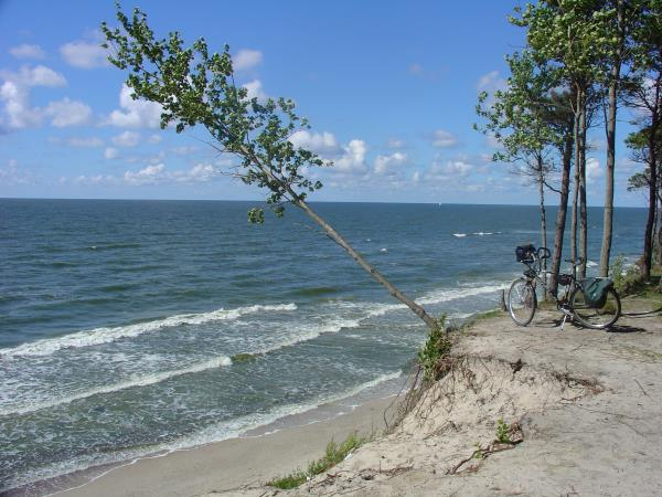 Lithuania cycling tour along the Baltic sea