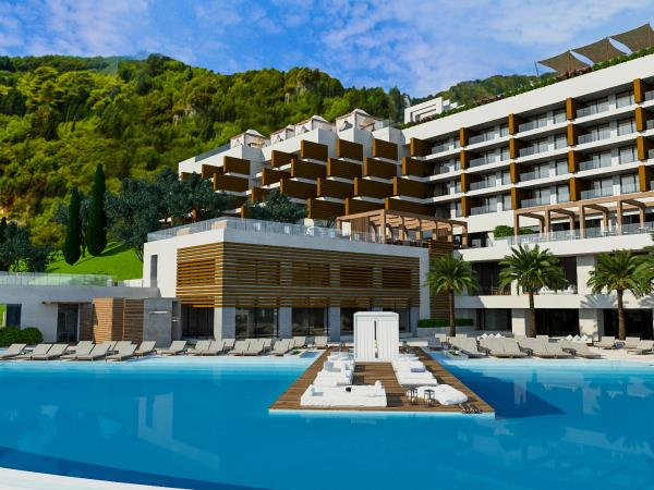 Corfu luxury beach resort