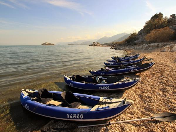 Montenegro to Albania kayak holiday
