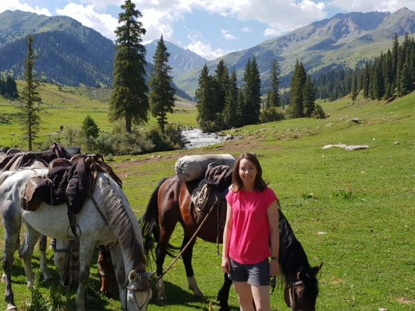 Kyrgyzstan Tian Shan Mountains hiking tour