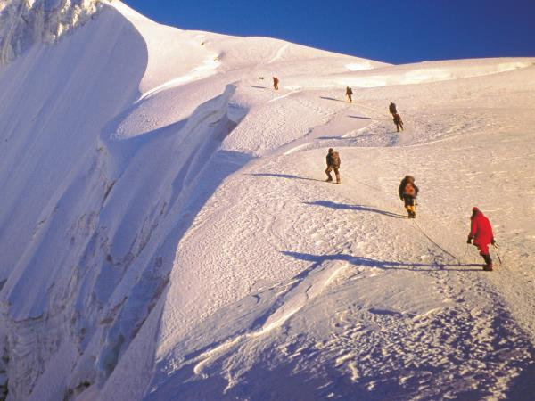 Cordillera Real climbing holiday in Bolivia