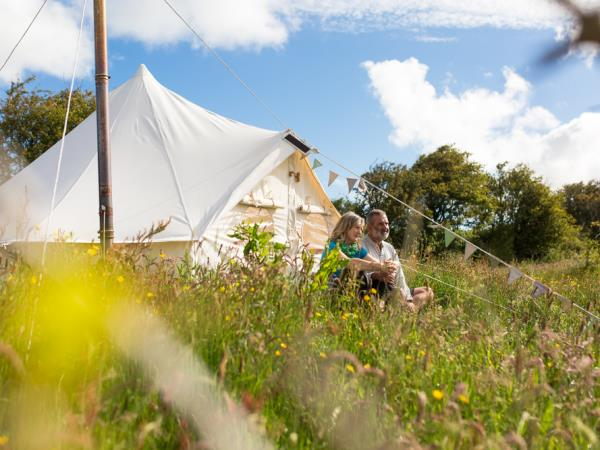 Ireland glamping and yoga holiday