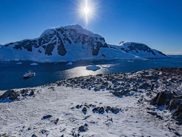 Journey to the Antarctic circle holiday