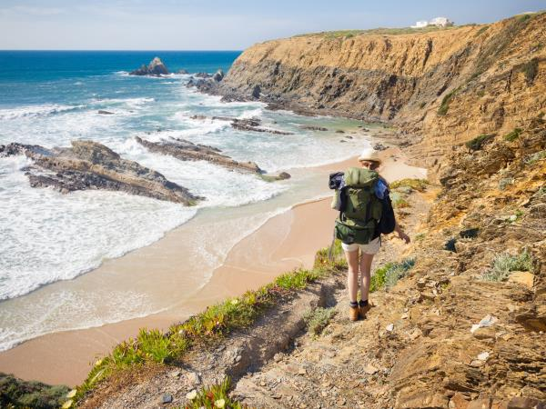 Coastal walking holiday in Portugal