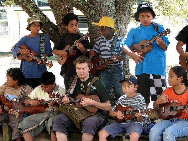 Teach music in New Zealand