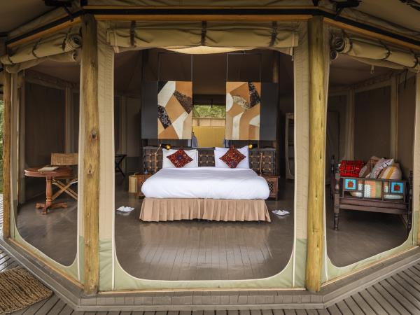 Mara Naboisho Conservancy safari camp