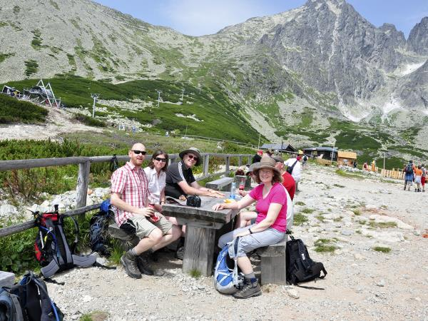 Tatras mountains self guided walking holiday in Slovakia