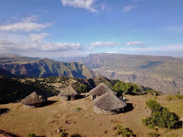 Simien mountains trekking in Ethiopia
