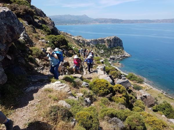 Walking holiday in rural Crete