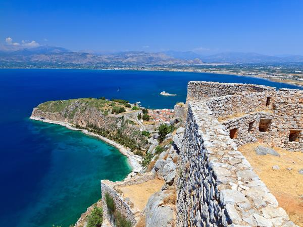 Peloponnese walking holiday in Greece