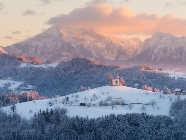 Slovenia winter photography holiday