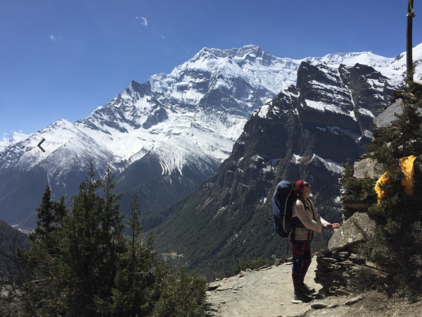 Annapurna Circuit hike to health and happiness, Nepal
