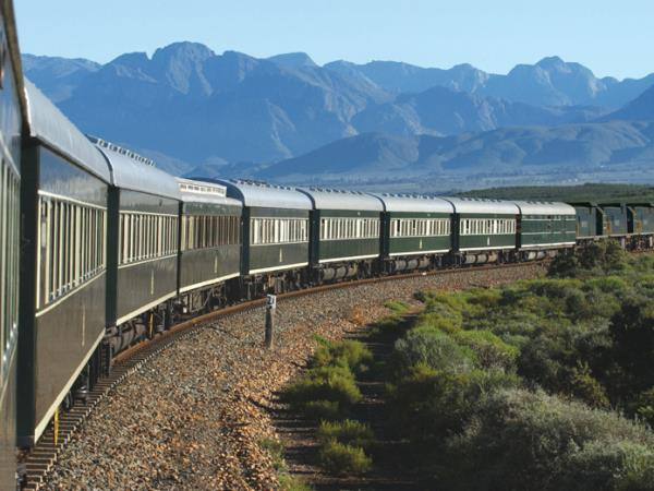 Luxury railway holiday in South Africa