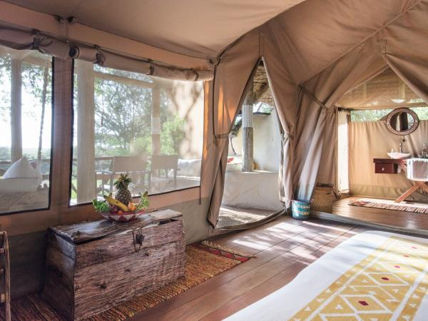 Masai Mara luxury camping safari in Kenya