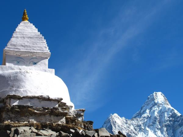 Ama Dablam expedition in Nepal
