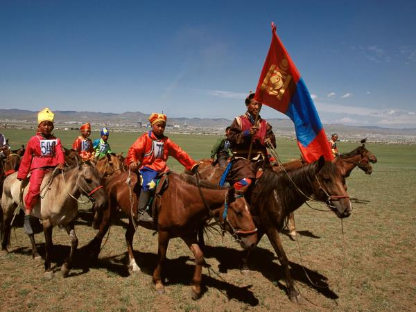 Naadam festival & Moscow holiday