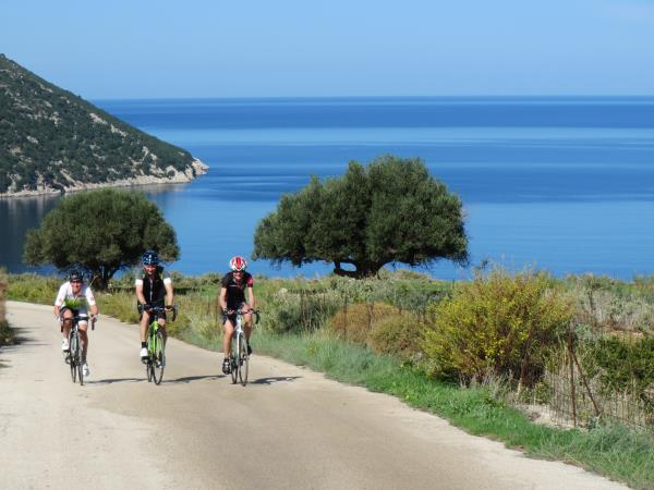 Cycling holiday in Kefalonia in spring