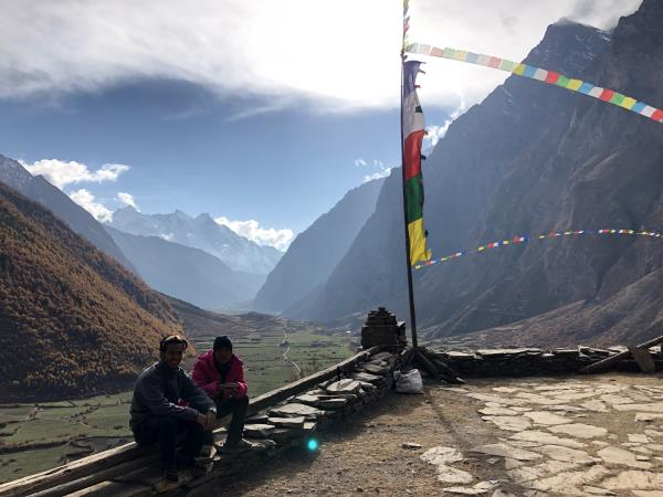 Manaslu Circuit with Tsum Valley trek in Nepal