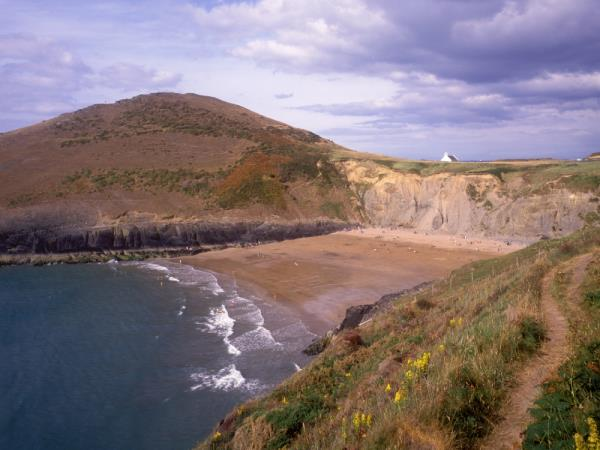 Ceredigion and Pembrokeshire Coast walking tour in Wales
