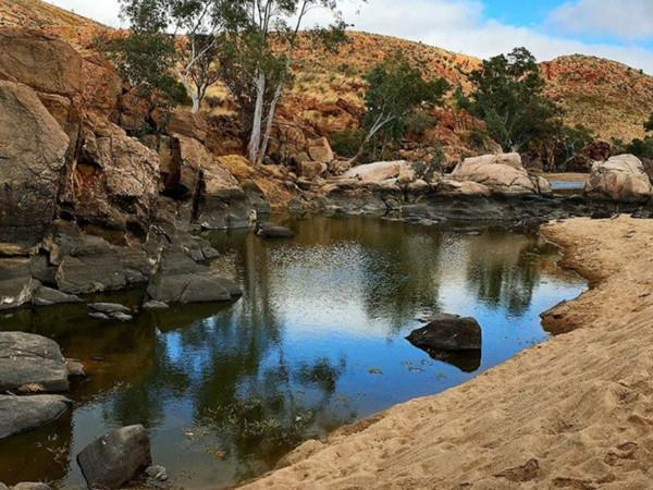 Larapinta Trail walking holiday in Australia