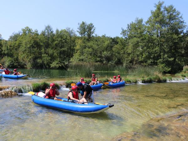 Croatia kayak short break & Plitvice Lakes