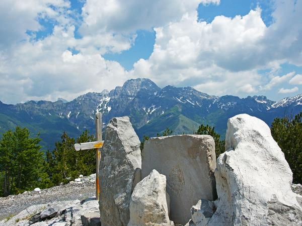 Albanian alps hiking holiday