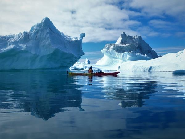 Greenland kayaking & hiking Expedition