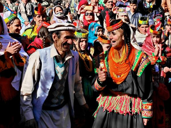 Kalash Uchaw festival tour in Pakistan