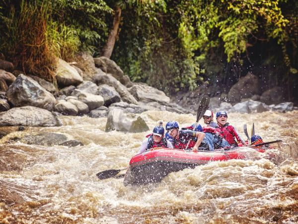 Papua New Guinea rafting holiday