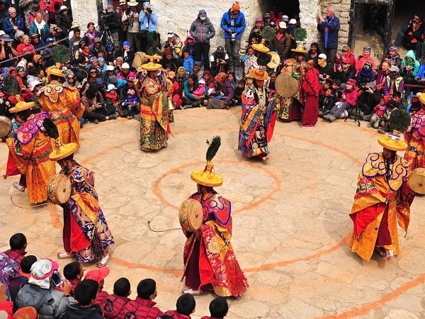 Tiji festival holiday in Upper Mustang, Nepal